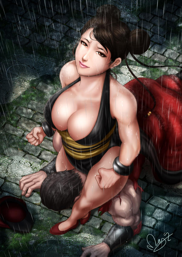 Chun Li In the End by magion02