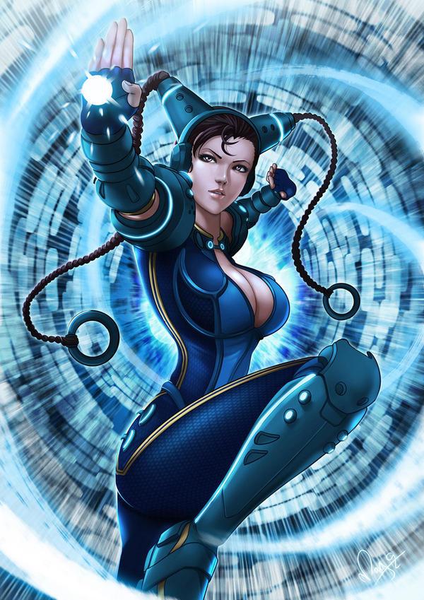 Cyber Chun Li by magion02
