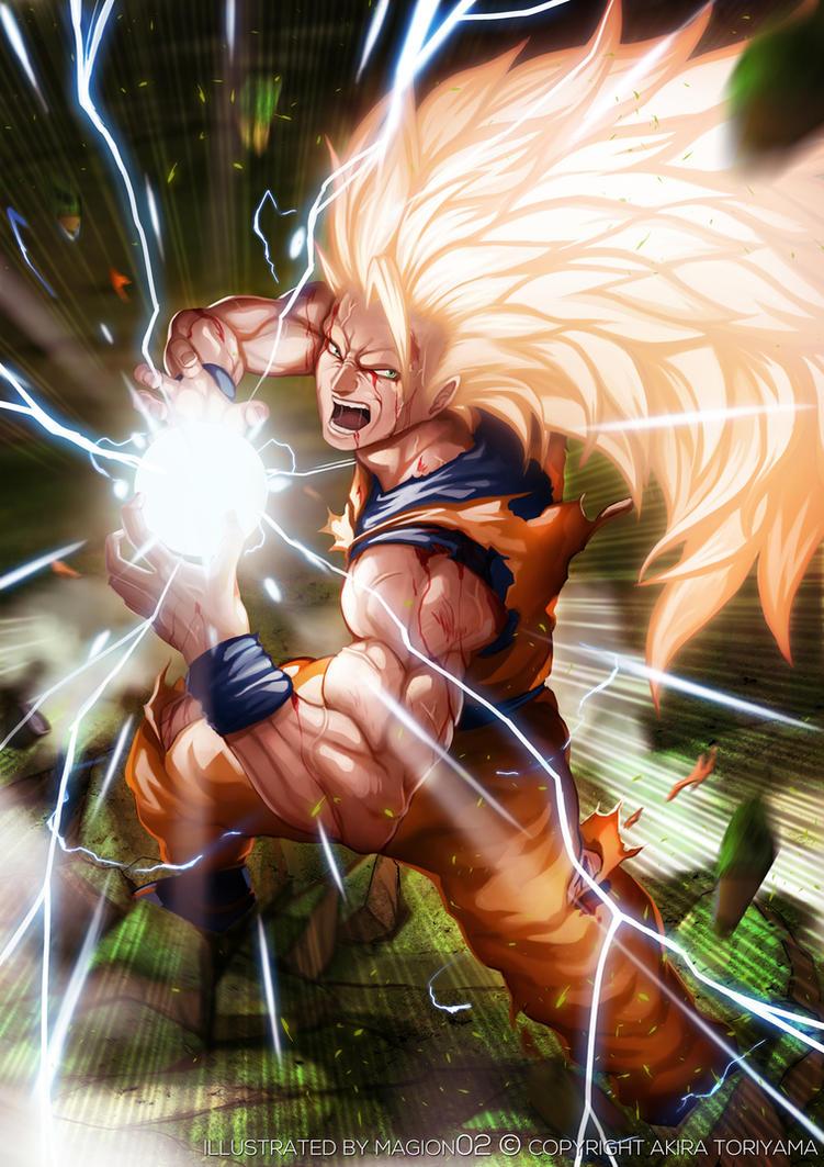 Super saiyan 3 son goku by magion02 on deviantart - Sangoten super sayen 3 ...