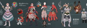 Lightning customization character design by magion02