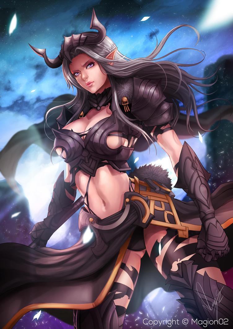 Katla Armor cg by magion02