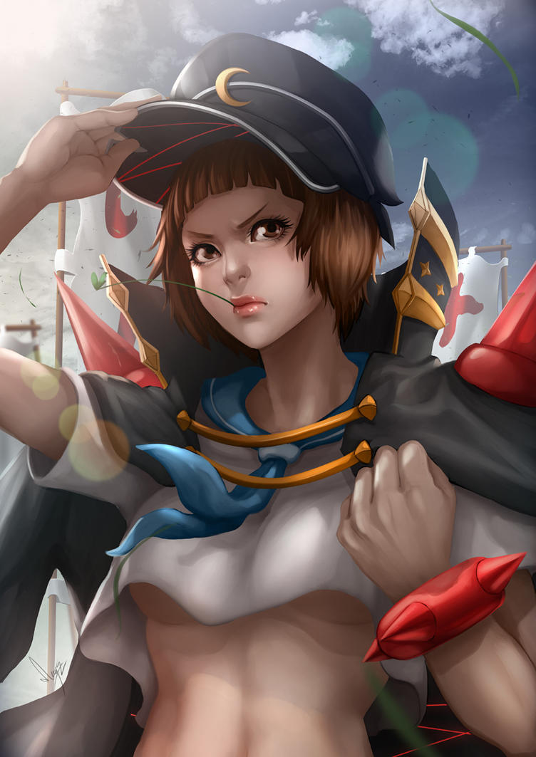 Kill La Kill Mako Mankanshoku by magion02