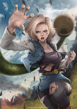 Dragon Ball Android 18