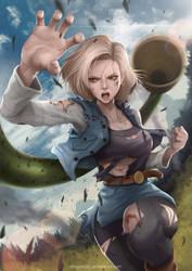 Dragon Ball Android 18