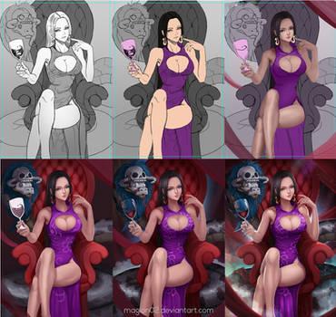 Boa Hancock Process by magion02