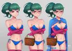 Project Senshi Shoujo Big Blue Riding Hood