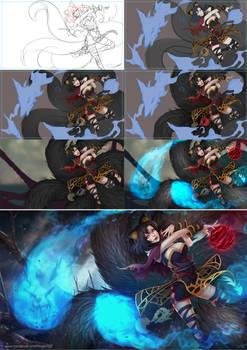 League of Legends Ahri progress
