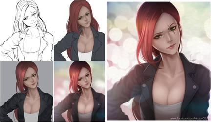 League of Legends Katarina Progress