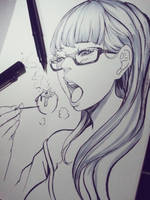 Takoyaki Girl by magion02
