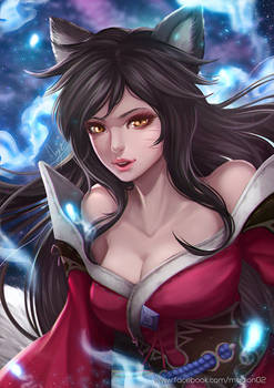 League of Legends Ahri Remastered