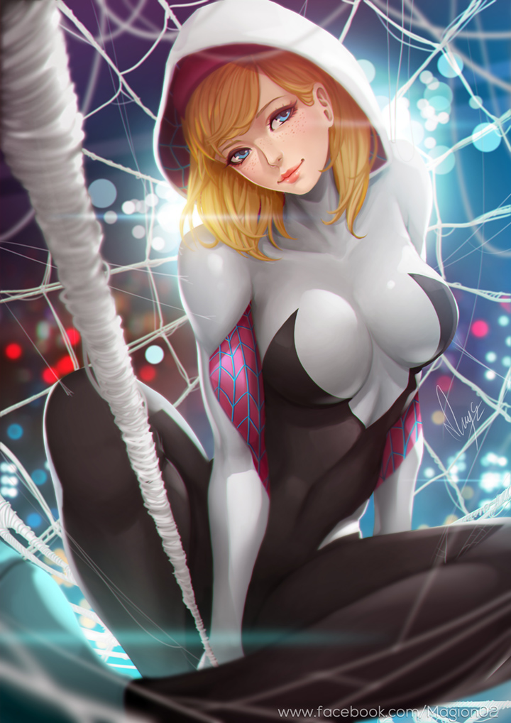 Come Here Spidey by magion02