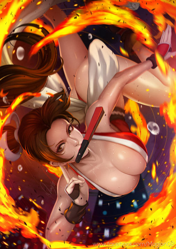 Mai Shiranui by magion02