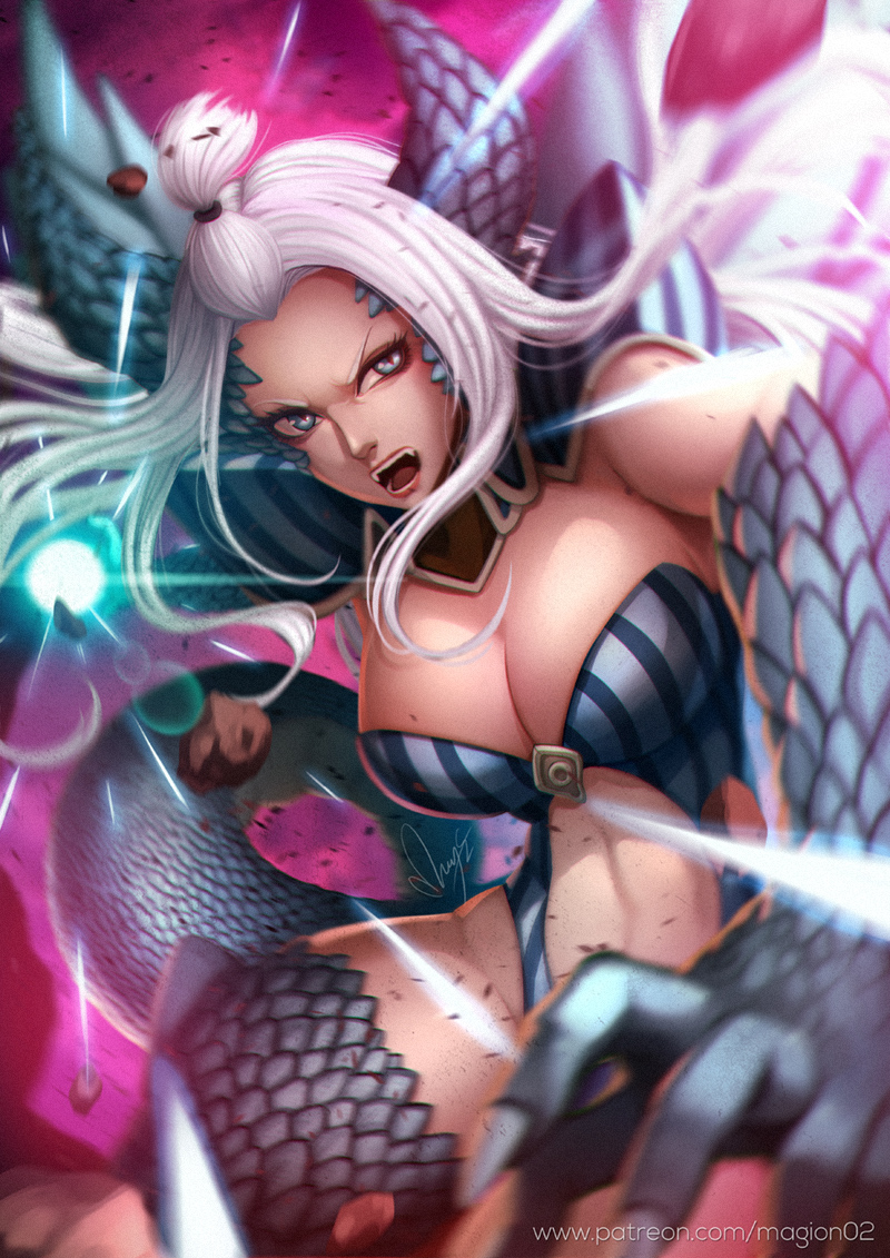 Fairy Tail Mirajane Halphas By Magion02 On Deviantart #fairy tail #mirajane strauss #mirajane #ftgraphics #this is what i was originally planning to do #well when i first received your message months back, i was originally going to draw young mirajane but i. fairy tail mirajane halphas by magion02