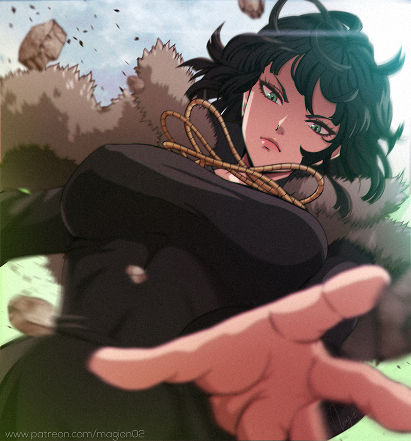 One Punch Man Fubuki by magion02