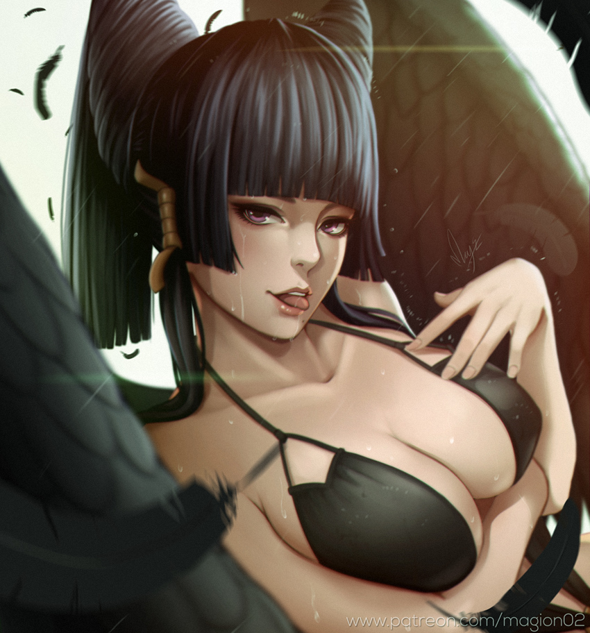 Dead or alive Nyotengu by magion02