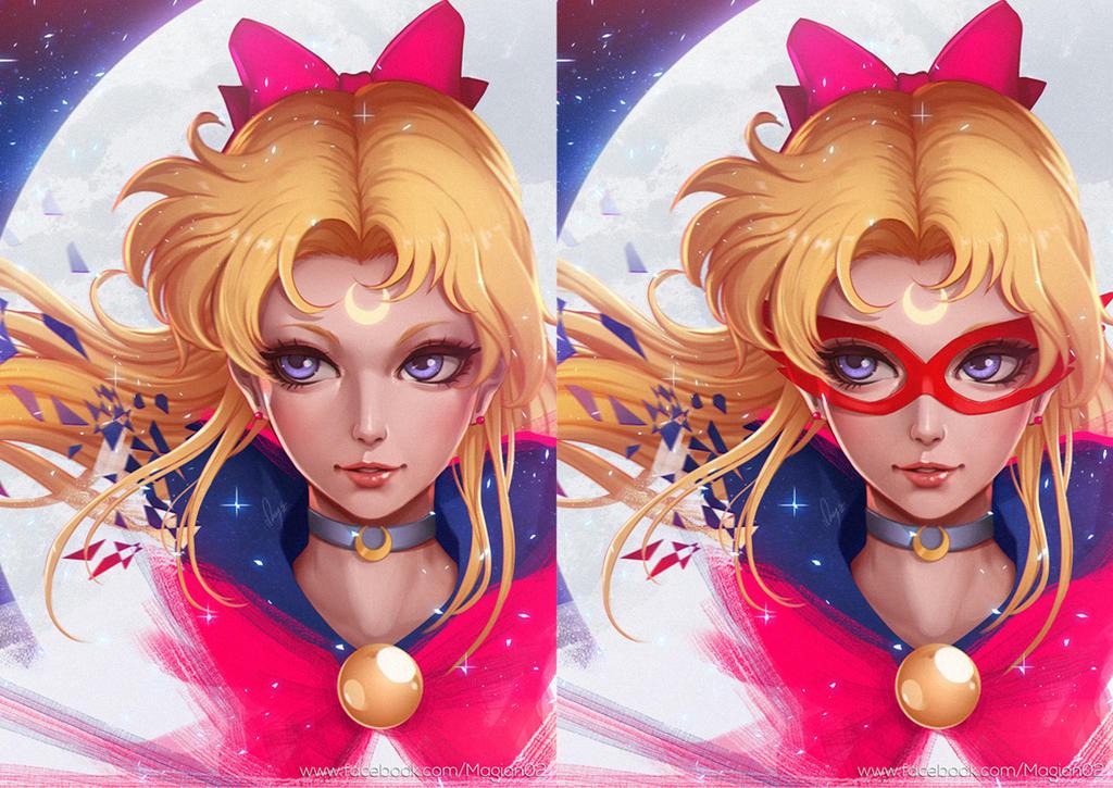Sailormoon Sailor V by magion02