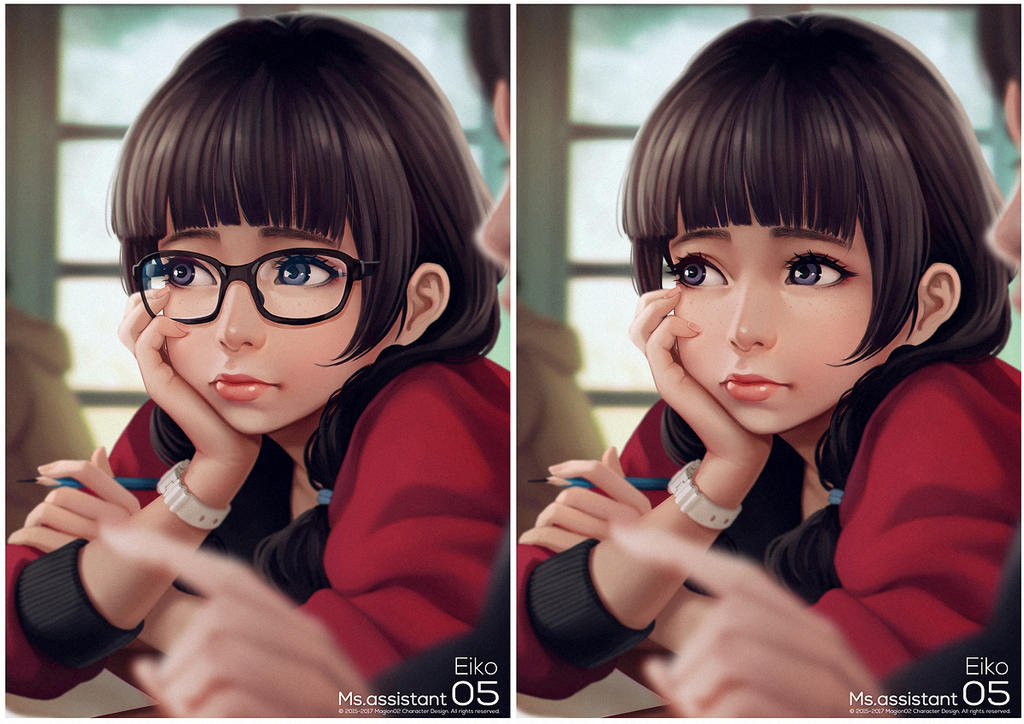 Ms.assistant Eiko Remastered by magion02