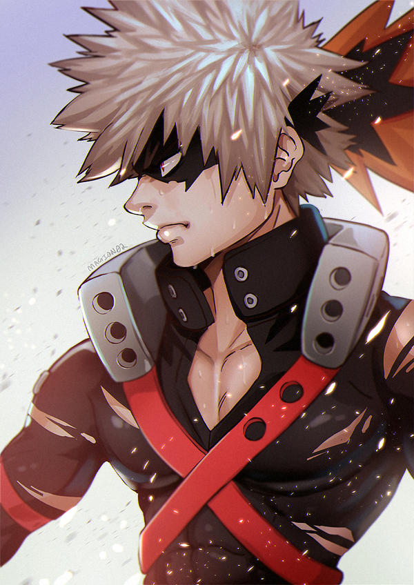 Bakugou by magion02