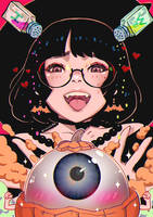 Eyeball Kabochan by magion02
