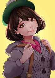 Pokemon Sword and Shield Female Trainer by magion02