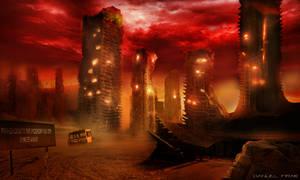 StarFall: Post Apocalyptic City by Danijel F.