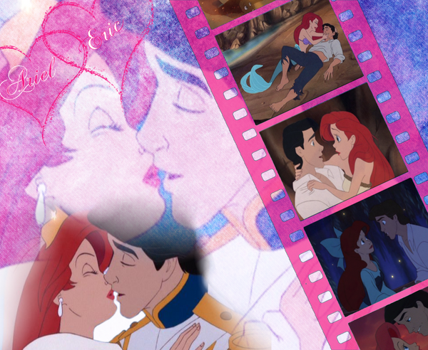 Ariel And Eric Wallpaper By Alison86