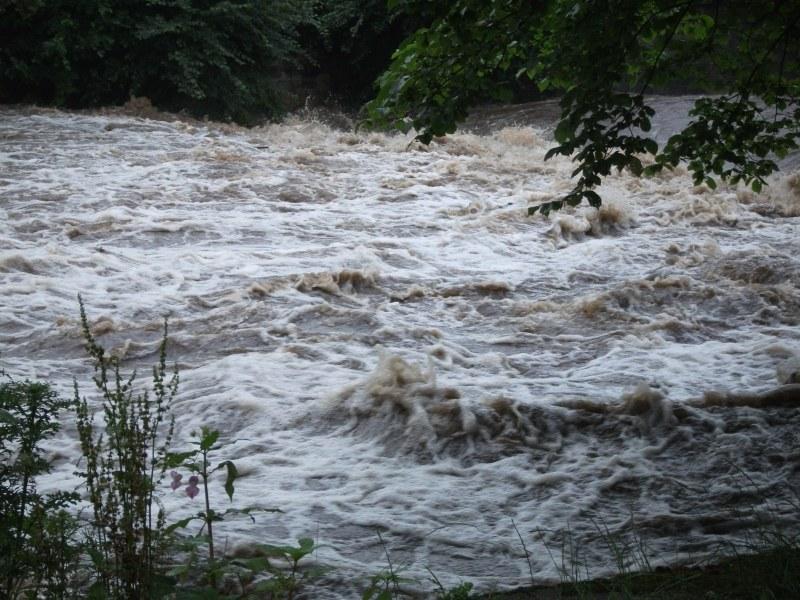 Oughtibridge Floods 2012 - The Riverside 004 by Vande-Bot