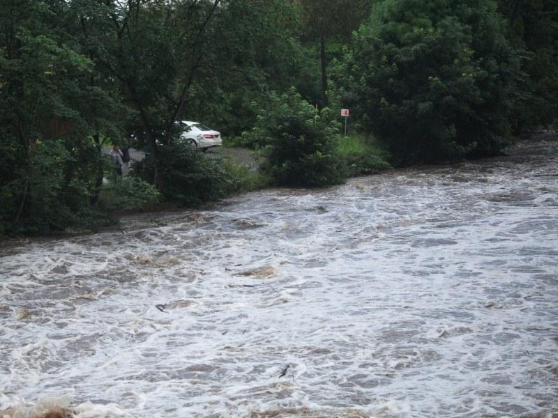 Oughtibridge Floods 2012 - The Riverside 005 by Vande-Bot