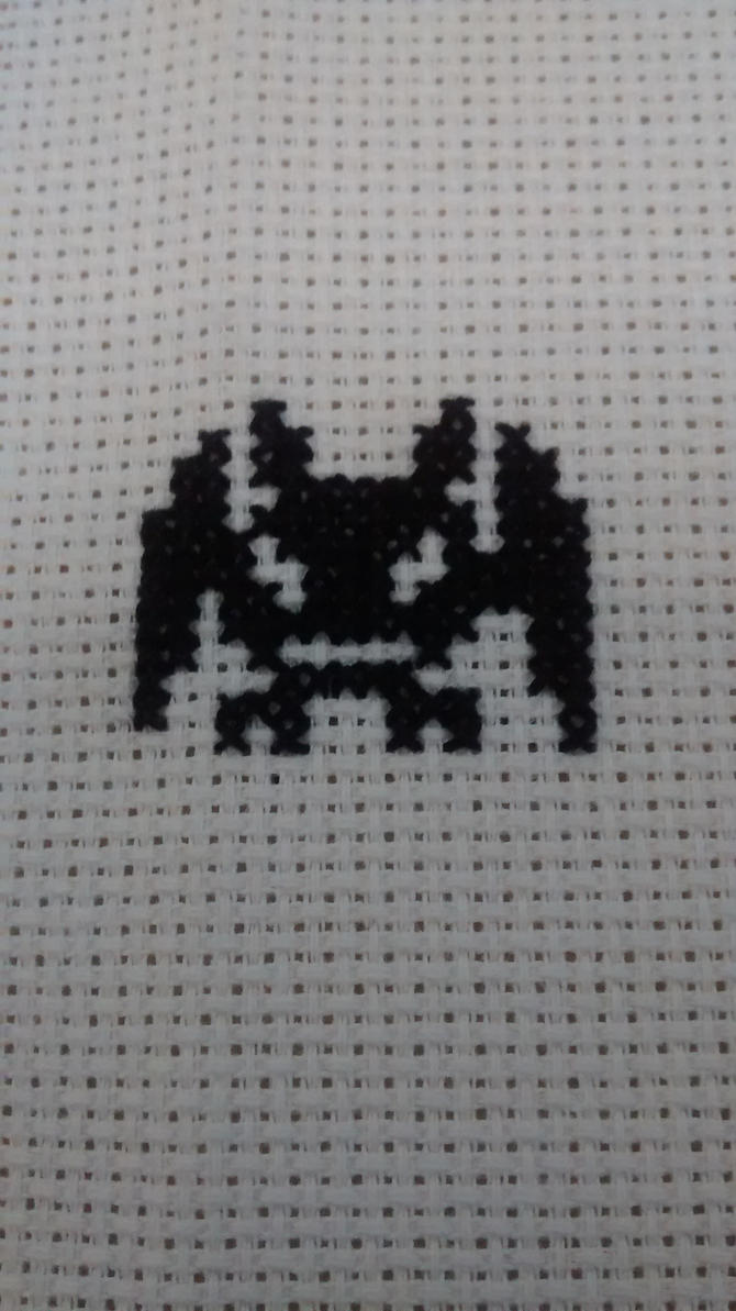 Picodevimon / Demidevimon Cross Stitch by Vande-Bot