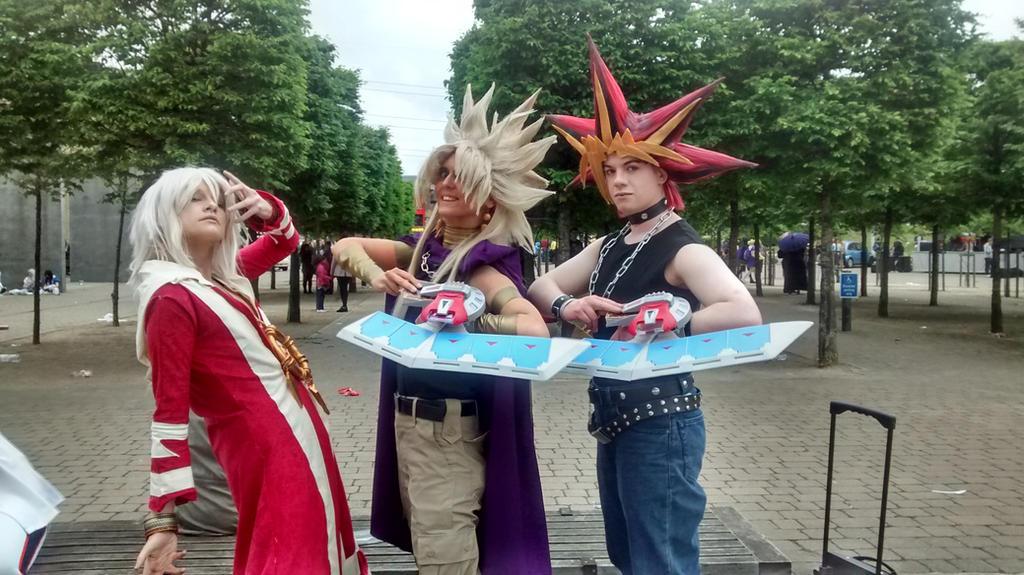 London MCM Comic Con 2015 - Yu-Gi-Oh Cosplayers by Vande-Bot