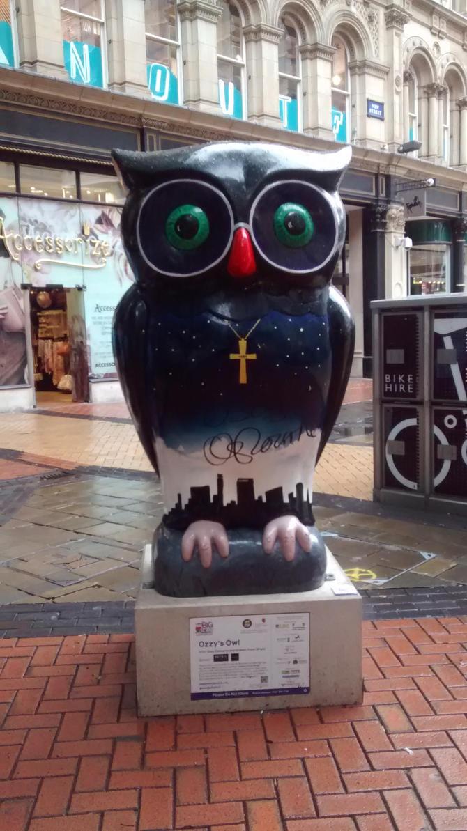 Birmingham Ozzy Owl by Vande-Bot