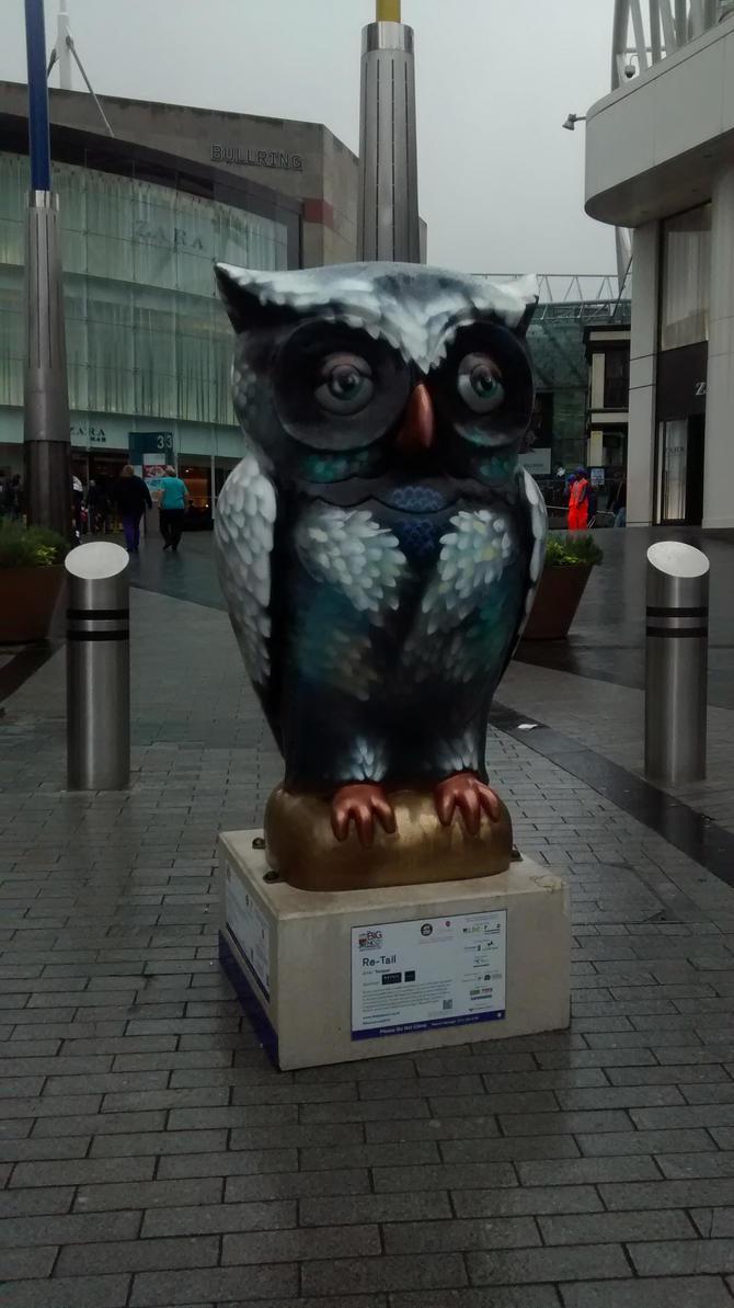 Birmingham Retail Owl by Vande-Bot
