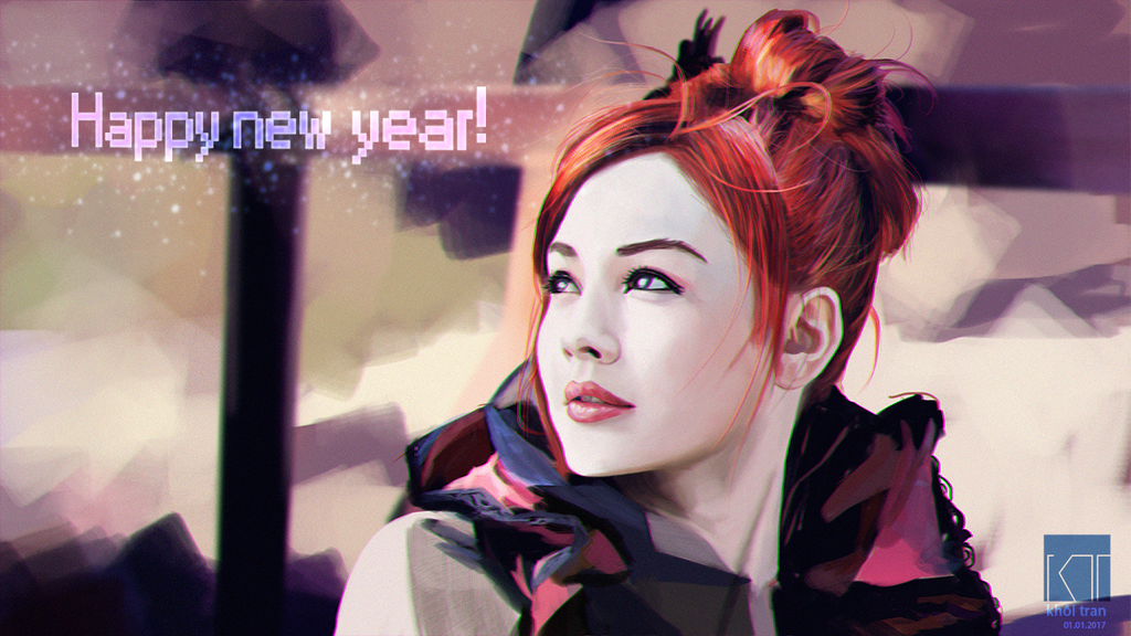 Happy new year!!! Wish ya all the best for 2017 ! by koorich