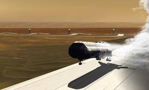 Gas Core Shutdown/5 Second Glide to Rollout