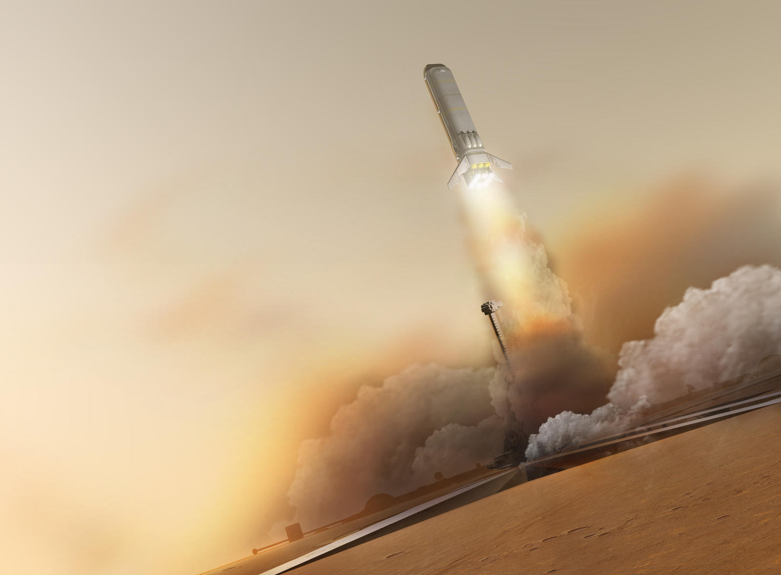 Nuclear SSTO Launch