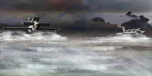 Unification War Era Wingship