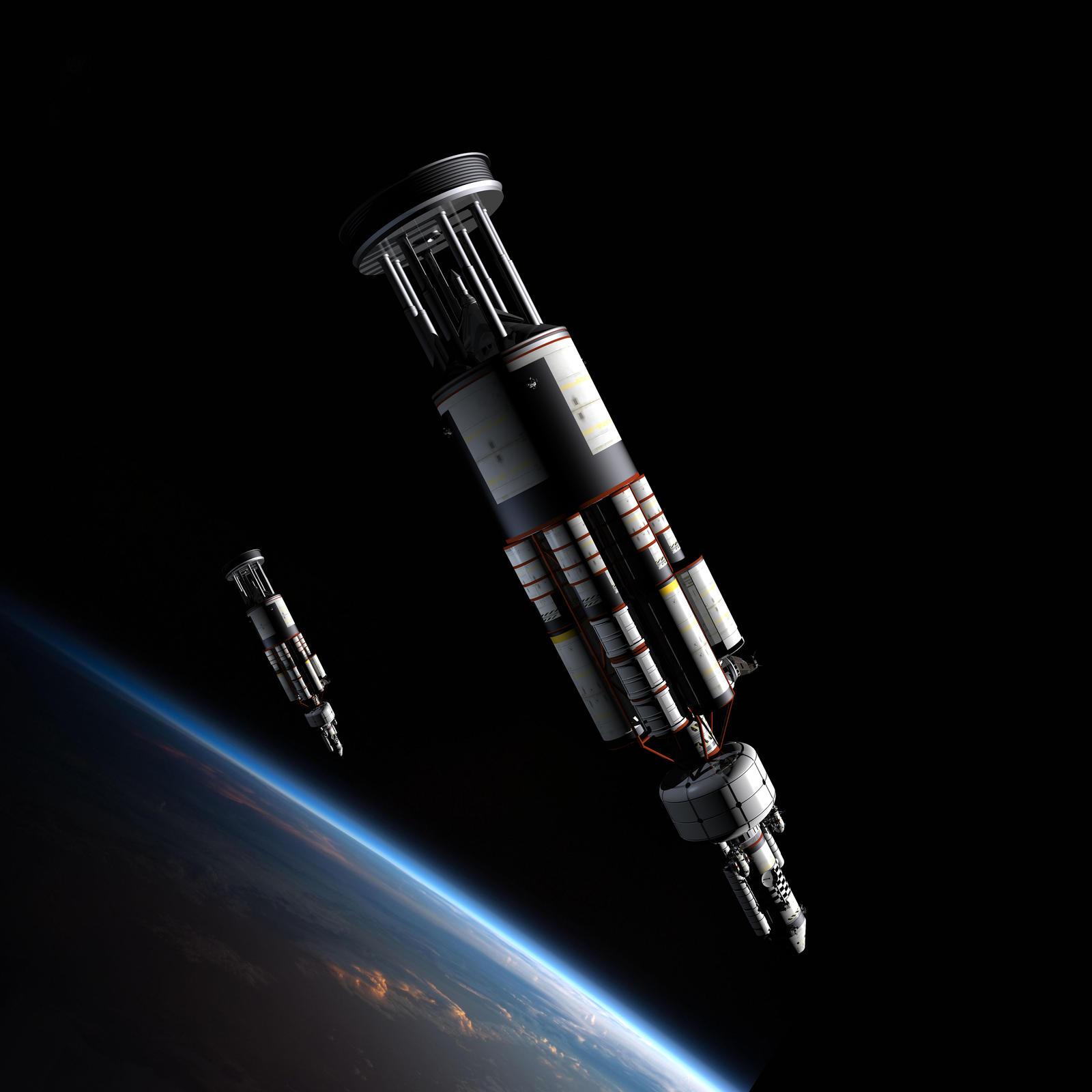 On Orbit by William-Black on DeviantArt