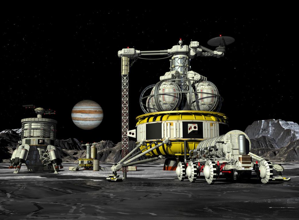 Callisto Production Field by William-Black