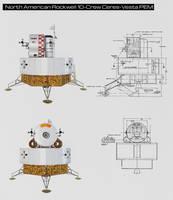 North American Rockwell 10-Crew Ceres-Vesta PEM by William-Black