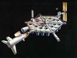 SPS: LEO Staging Base by William-Black
