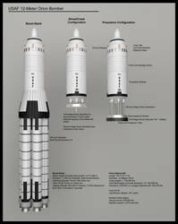 USAF 12-Meter Orion Bomber Diagram