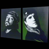 Jay and Silent Bob by messymedia