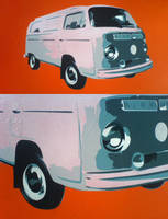 VW Camper by messymedia