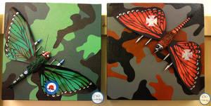 Battleflies by messymedia