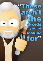 MessyMedia: Obi-Wan by messymedia