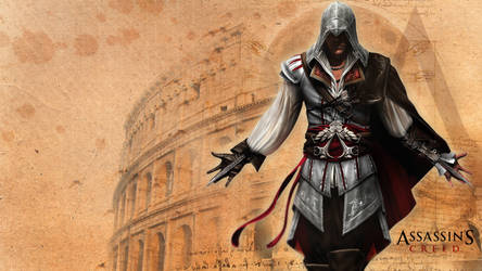Assassins Creed Ezio wallpaper by messymedia