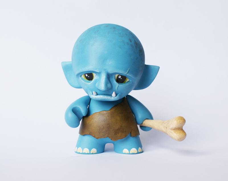 Mini Munny Ogre by messymedia