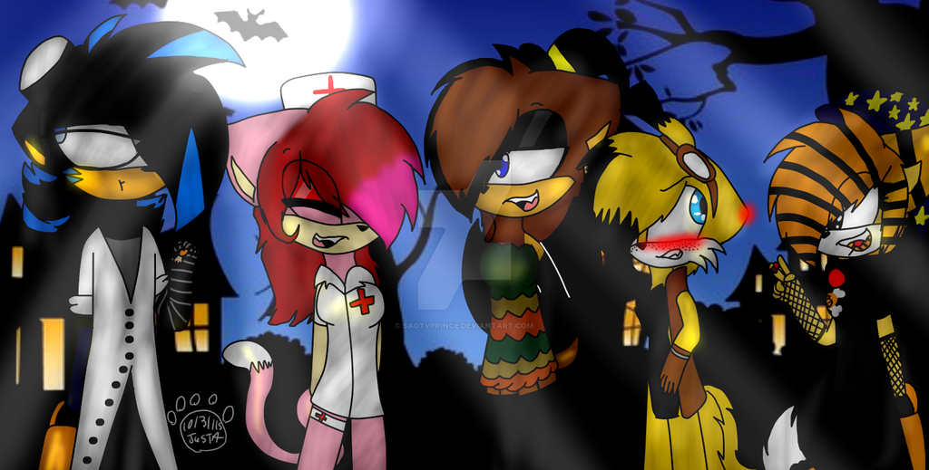 +.Happy Halloween 2015.+ by JustaTheWolf
