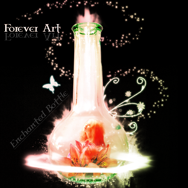 Forever Galerie Enchanted_Bottle_by_ForeverArts