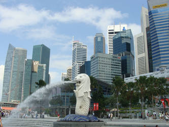 The Merlion by Frankdoom